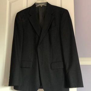 Oscar De  La  Renta  black sport coat